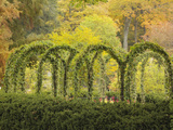 Autumn View of Longwood Gardens, Pennsylvania, Usa Photographic Print by Adam Jones