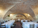 Il Convento Restaurant, This Restaurant Was Originally a Convent, Corciano, Umbria, Italy Photographic Print by Rob Tilley