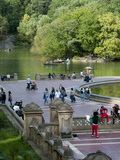 Bethesda Fountain in Central Park, New York City, New York, Usa Photographic Print by Alan Klehr