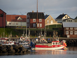 Inner Harbor of Port of Stykkisholmur, Iceland Photographic Print by Dave Bartruff
