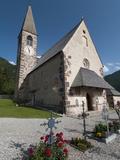 Santa Maddalena Church, Funes Valley (Villnoss), Dolomites, Trentino Alto Adige, South Tyrol, Italy Photographic Print by Sergio Pitamitz