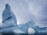 Massive Arched Iceberg from Jakobshavn Glacier Floating in Disko Bay, Ilulissat, Greenland Photographic Print by Paul Souders