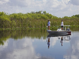 Fishing, Everglades, Florida, Usa Photographic Print by Connie Bransilver