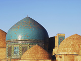 Necropolis in Central, Part of the Shah-I-Zinda Mausoleum, Shah-I-Zinda, Samarkand, Uzbekistan Photographie par Anthony Asael