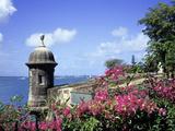 Old City Walls, Old San Juan, Puerto Rico Photographic Print by David Herbig