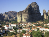 Town of Meteora, Greece Photographic Print by Russell Young