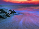 Sunset on Delaware Bay, Cape May, New Jersey, Usa Photographic Print by Jay O'brien