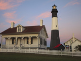 Lighthouse in Early Light at Tybee Island, Georgia, Usa Photographic Print by Joanne Wells