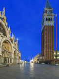 St. Mark's Square (Piazza San Marco) at Dawn, Venice, Italy Photographic Print by Rob Tilley