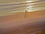 Jacksonville Beach at Sunrise, Florida, Usa Photographic Print by Connie Bransilver