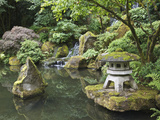 Japanese Garden, Portland, Oregon, Usa Photographic Print by Connie Bransilver