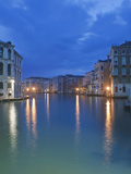 The Grand Canal at Dawn from Rialto Bridge, Venice, Italy Photographic Print by Rob Tilley