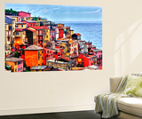 Scenes from Cinque Terra, Italy Wall Mural by Richard Duval