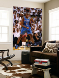 Miami, FL - June 21:  Miami Heat and Oklahoma City Thunder Game Five, Serge Ibaka Prints by Ronald Martinez