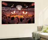 Miami, FL - June 21:  An overall of American Airlines Arena. Wall Mural by Joe Murphy