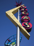 Vegas Neon Sign, Fremont Street East, Downtown, Las Vegas, Nevada, Usa Photographic Print by Walter Bibikow