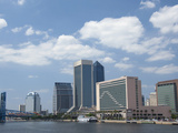 The Jacksonville Landing Area Along the St. John's River, Jacksonville, Florida, Usa Photographic Print by Cindy Miller Hopkins