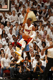 Miami, FL - June 21:  Miami Heat and Oklahoma City Thunder Game Five, Dwyane Wade Photographic Print by Issac Baldizon