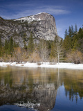 Mt. Watkins Reflected in Mirror Lake, Yosemite Np, California, Usa Photographic Print by Jamie & Judy Wild