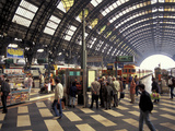 Train Station, Milan, Italy Photographic Print by David R. Frazier