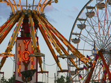 Indiana State Fair, Indianapolis, Indiana, Usa Photographic Print by Anna Miller