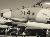 Graveyard of Us-Built A-4 Fighters, Israeli Air Force Museum, Be-Er Sheva, the Negev, Israel Photographic Print by Walter Bibikow