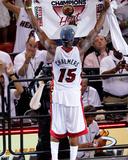 Mike Ehrmann - Miami, FL - June 21:  Miami Heat and Oklahoma City Thunder Game Five, Mario Chalmers Photo