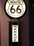 Route 66 Garage Sign, Albuquerque, New Mexico, Usa Photographic Print by Julian McRoberts