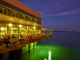 The Jetty Restaurant, Stokes Hill Wharf, Darwin Waterfront Precinct, Northern Territory, Australia Photographic Print by David Wall