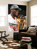 Miami, FL - June 21:  Miami Heat and Oklahoma City Thunder Game Five, LeBron James Prints by Andrew Bernstein
