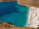 Beach Outside Himara, Albania Photographic Print by  Prisma