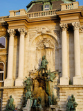 Detail of the Royal Palace, Budapest, Hungary Photographic Print by  Prisma