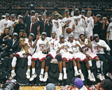 Miami Heat Team Celebration Photo