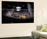 Miami, FL - June 21:  An overall of American Airlines Arena. Wall Mural by Layne Murdoch