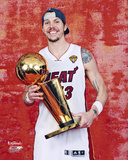 Mike Miller with the NBA Championship Trophy Photo