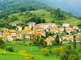 Remote Village of Moerna in the Italian Alps, Moerna, Italy Photographic Print by Richard Duval