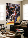 Miami, FL - June 21:  Miami Heat and Oklahoma City Thunder Game Five, Dwyane Wade Wall Mural by Joe Murphy