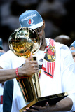 Miami, FL - June 21:  Miami Heat and Oklahoma City Thunder Game Five, Chris Bosh Photographic Print by Ronald Martinez
