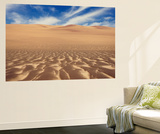 Wind Blown Sand Forms Patterns in Sand Dunes Near Torra Bay, Skeleton Coast, Namibia, Africa Wall Mural by Paul Souders