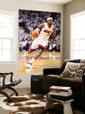 Miami, FL - June 21:  Miami Heat and Oklahoma City Thunder Game Five, LeBron James Wall Mural by Ronald Martinez