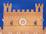 Palazzo Pubblico (City Hall) Detail, Siena, Tuscany, Italy Photographic Print by Rob Tilley