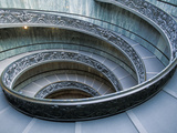 Main Entrance Staircase, Vatican City, Musei Vaticani, Rome, Italy Photographic Print by Walter Bibikow