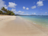 Waimanalo Beach, Oahu, Hawaii, Usa Photographic Print by Douglas Peebles