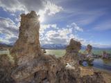 Mono Lake Tufa State Reserve, South Tufa Area, California, Usa Photographic Print by Jamie & Judy Wild