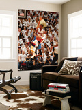 Miami, FL - June 21:  Miami Heat and Oklahoma City Thunder Game Five, Dwyane Wade Posters by Issac Baldizon