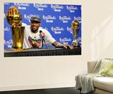 Miami, FL - June 21:  Miami Heat and Oklahoma City Thunder Game Five, LeBron James Art