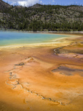 Midway Geyser Basin, Yellowstone National Park, Montana, Usa Photographic Print by Luc Novovitch