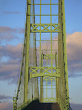 Suspension Bridge onto Little Deer Isle, Maine, Usa Photographic Print by Joanne Wells