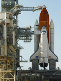 The Final Mission of Space Shuttle Endeavour Sts-134 on Pad 39A at Cape Canaveral, Florida, Usa Photographic Print by Maresa Pryor