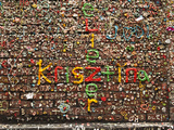 Gum Wall at Pike's Place Market in Seattle, Washington, Usa Photographic Print by Michele Westmorland